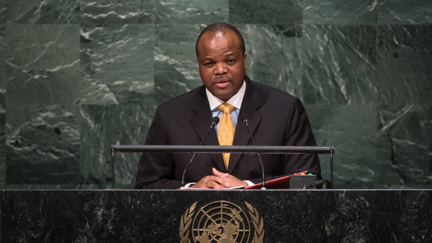 Mswati III Net Worth: $100 Million
