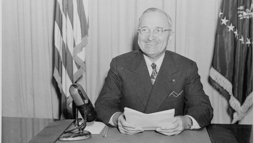 12114, 1950, Harry Truman, Horizontal, america, president