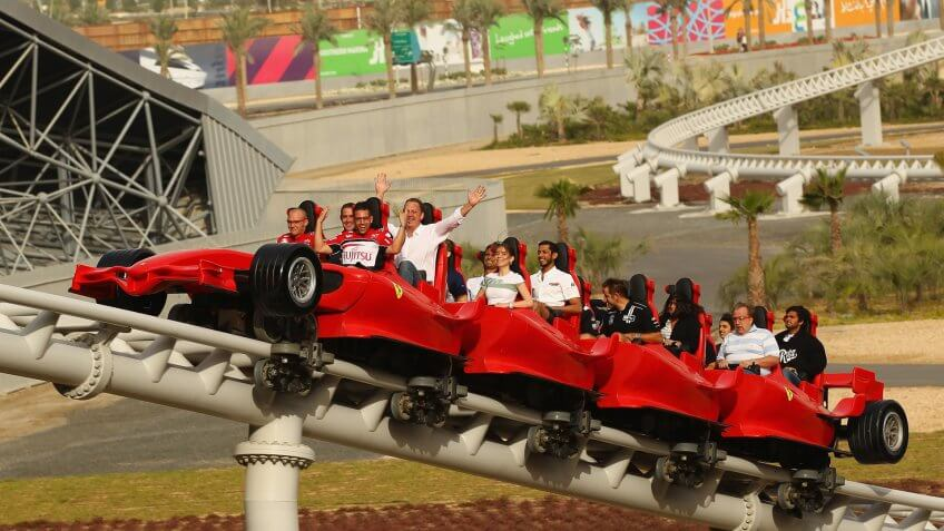 Abu Dhabi Sightseeing and the Ferrari World Theme Park