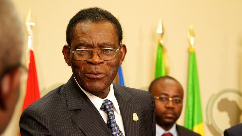 Teodoro Obiang Nguema Mbasogo Net Worth: $200 Million