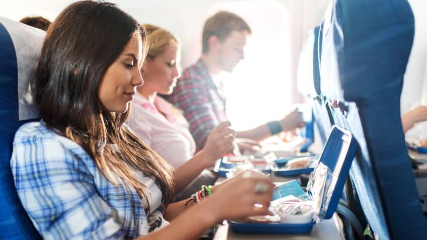 Purchasing Airplane Food