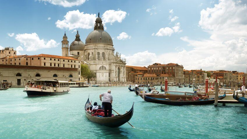 San Francisco to Venice, Italy