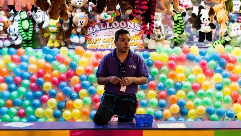 Amusement Park Attendant