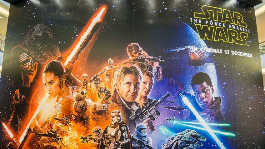 'Star Wars' Box Office Blockbusters