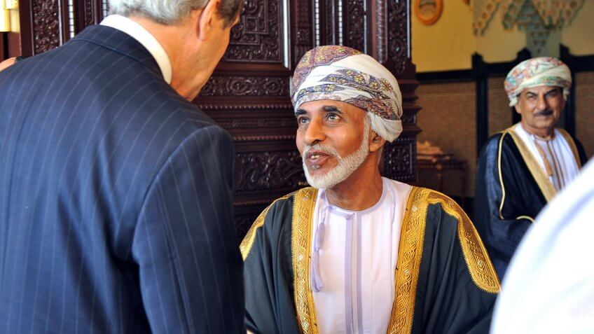 Qaboos bin Said al Said Net Worth: $900 Million
