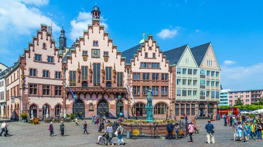 Baltimore to Frankfurt, Germany