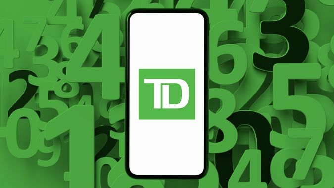 TD Bank routing number
