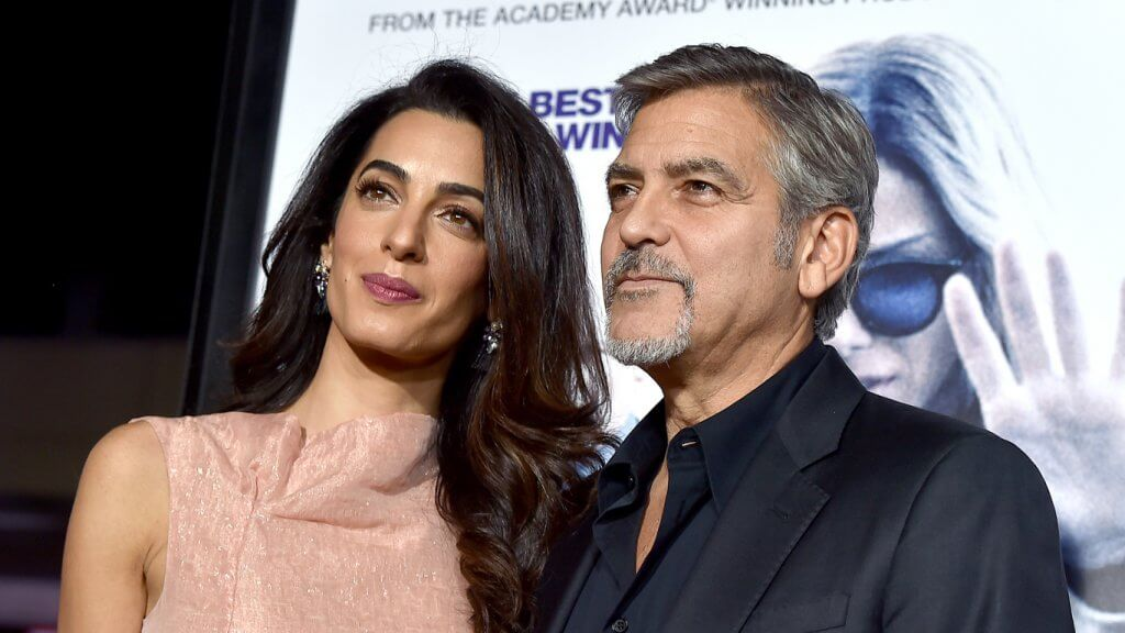The Clooneys Join the ...
