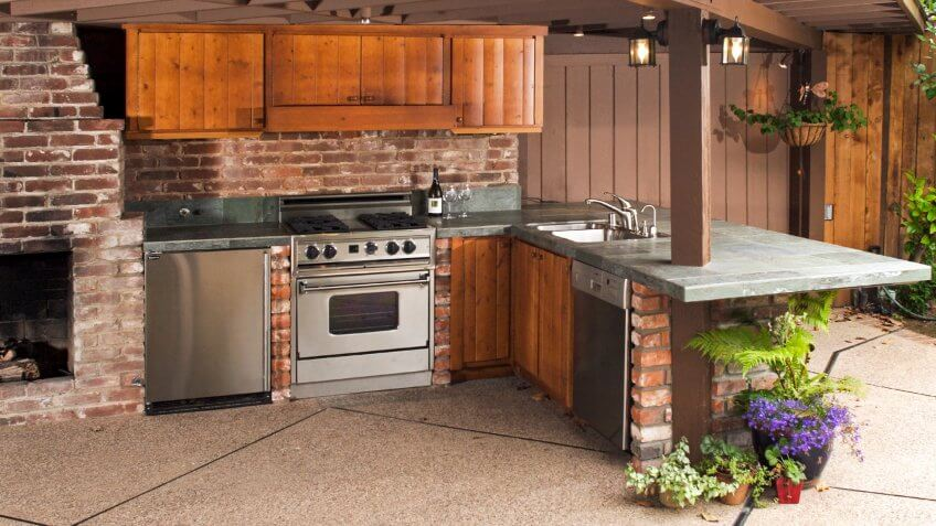 5. Outdoor Kitchen