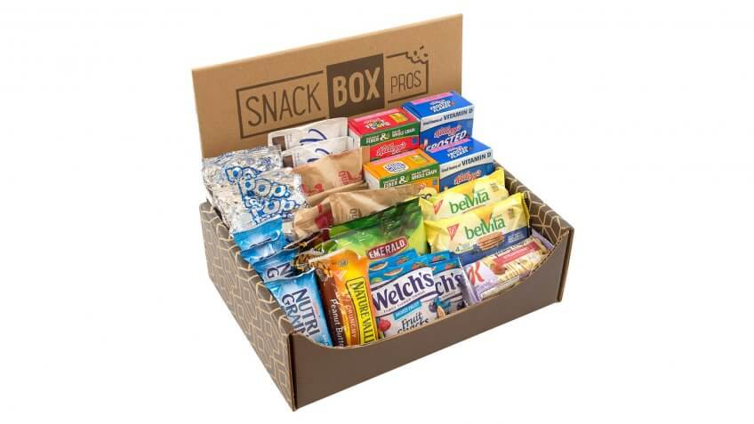 Breakfast Snack Box: $31.99