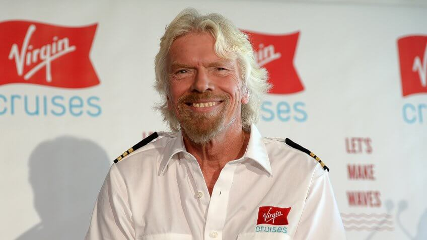 Richard Branson Net Worth: 5.1 Billion