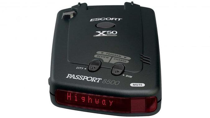 Escort Passport 8500 Radar/Laser Detector: $169.99