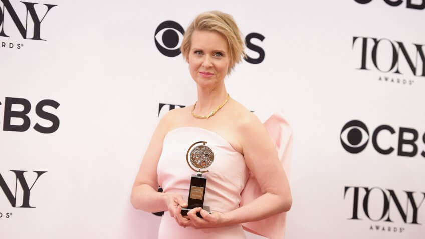 <strong>Best Performance by an Actress in a Featured Role in a Play </strong><strong>&#8212;</strong><strong> Cynthia Nixon Net Worth: </strong><strong>$60 Million</strong>