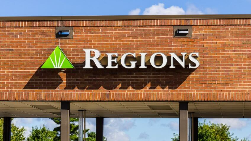 Regions Bank Savings Secured Line of Credit