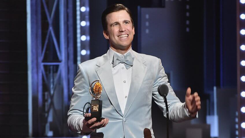 <strong>Best Performance by an Actor in a Featured Role in a Musical </strong><strong>—</strong><strong> Gavin Creel Net Worth: Unknown</strong>