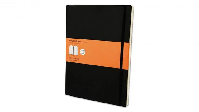 Moleskine Classic Soft Cover Notebook: $19.99