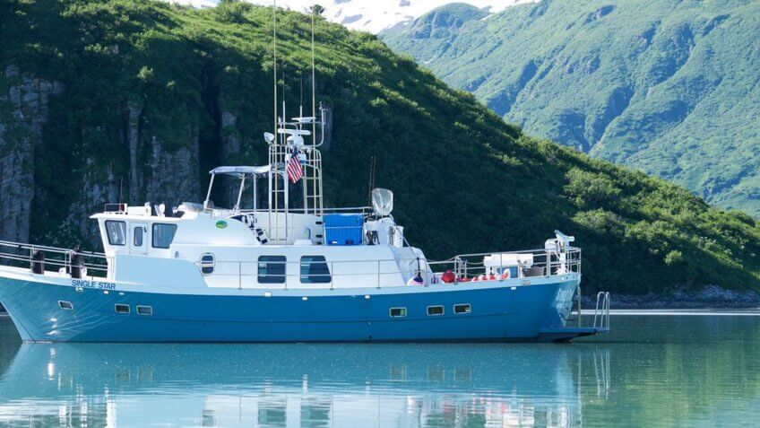 Yacht Vacation Rental With Personal Chef in Kodiak, Alaska