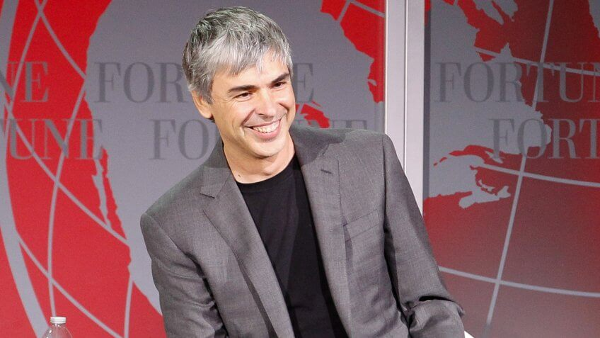 Larry Page Net Worth: $45.9 Billion