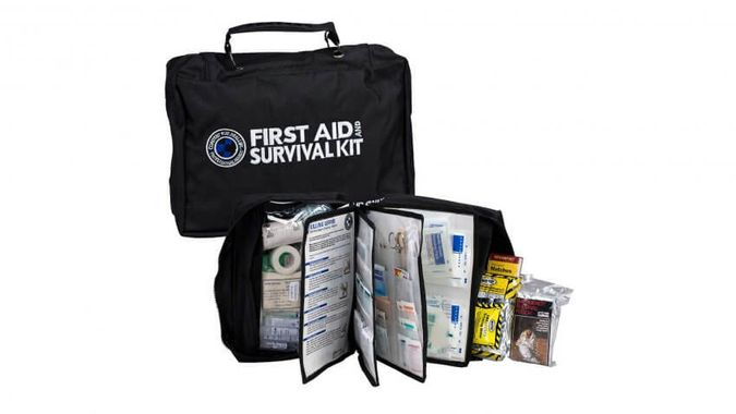 First Aid and Survival Kit: $79.99