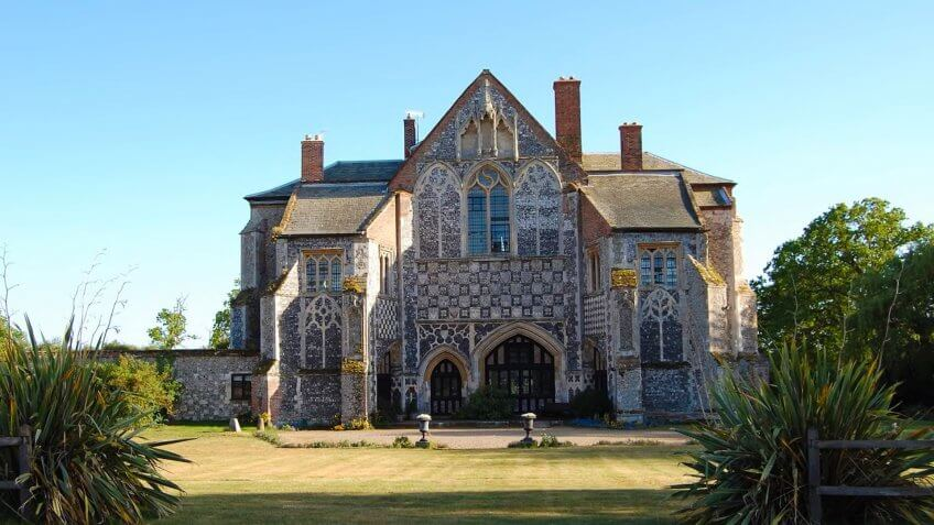 Butley Priory in Suffolk, England