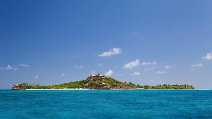 Richard Branson's Island
