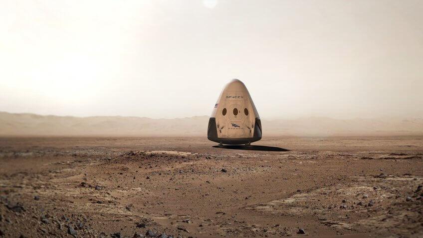 Mars Oasis