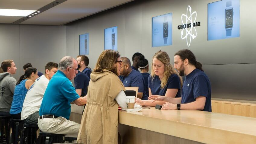 You Won't Get to the Front of the Line at the Genius Bar