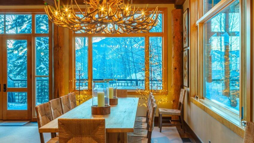 Luxury Ski Lodge in Jackson Hole, Wyo.