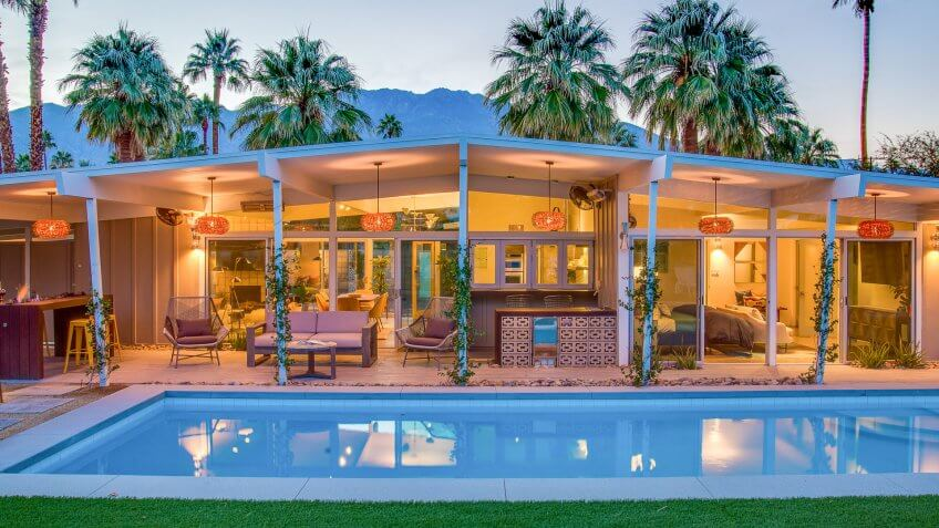 West Elm House in Palm Springs, Calif.