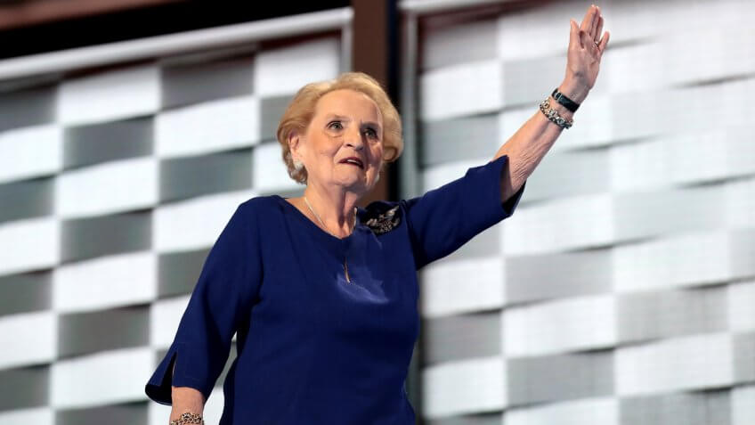 Madeleine Albright Net Worth: $10 Million