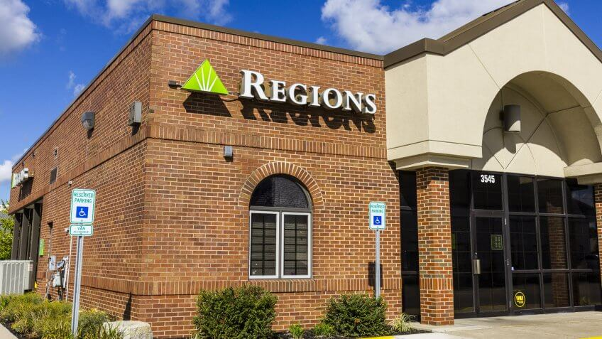 Regions Bank Preferred Line of Credit