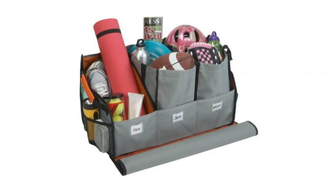 Highland Trunk Organizer With Three Totes: $29.99