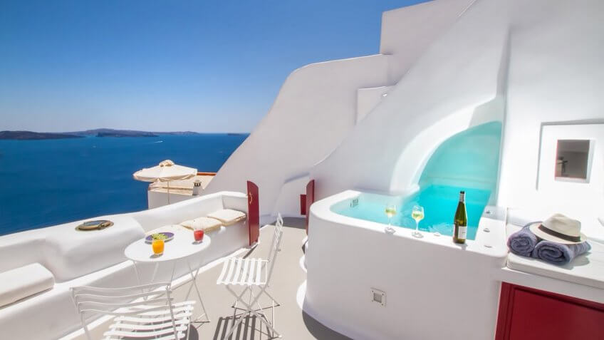 Hector Cave House in Santorini, Greece