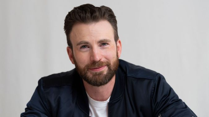 Mandatory Credit: Photo by Magnus Sundholm/Shutterstock (10476728ca)Chris Evans'Knives Out' film photocall, Four Seasons Hotel, Beverly Hills, Los Angeles, USA - 15 Nov 2019.