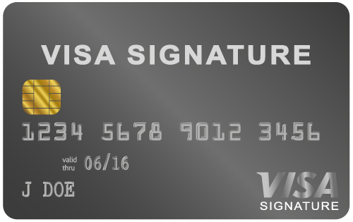 The top 10 most exclusive black cards you dont know about visa signature card us visa reheart Images