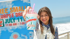 Get a Free Slurpee at 7-Eleven on 7/11