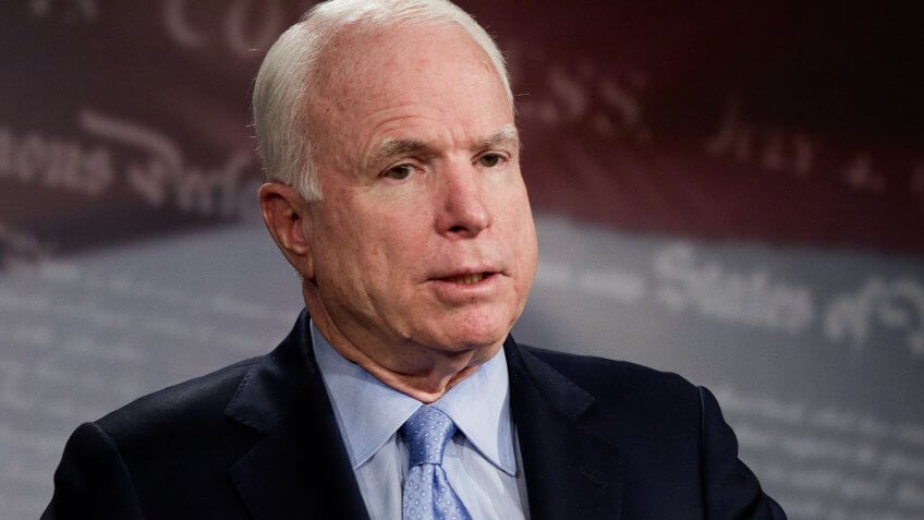 John McCain's Net Worth as He Battles Brain Cancer