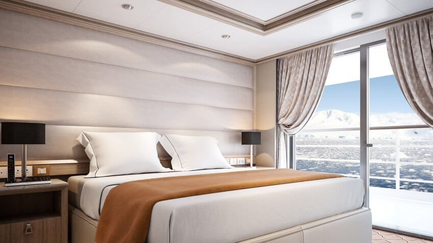 Owners Suite of Silversea.
