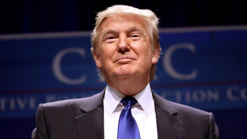 President Elect Donald Trump at CPAC