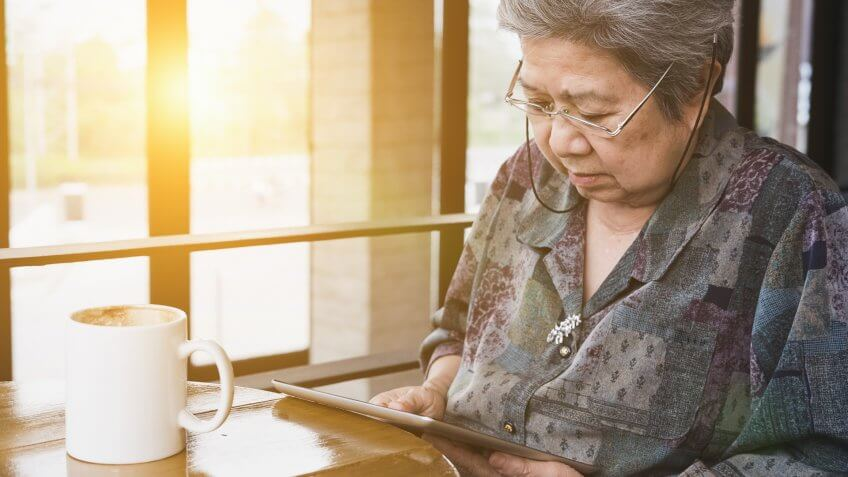 Asian senior woman sitting and resting in cafe coffee shop near , Secrets About Retiring That No One Wants to Talk About