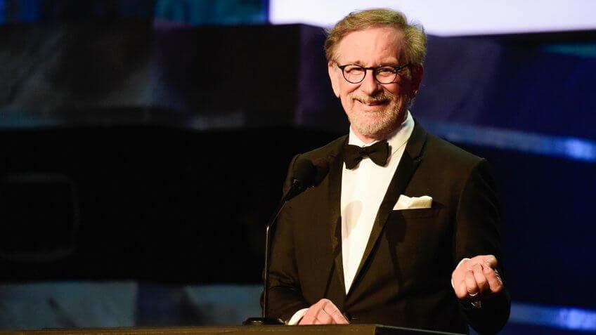 Iconic director Steven Spielberg