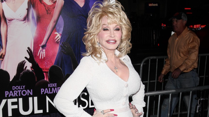 "10 Celebs Who Insured Their Body Parts for Millions, CA 01-09-12, Chinese Theatre, Dolly Parton at the ""Joyful Noise"" World Premiere, Hollywood"
