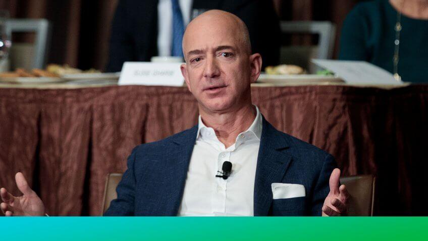 Jeff Bezos' Updated Net Worth Helps Him Retain Status as Richest Man Alive