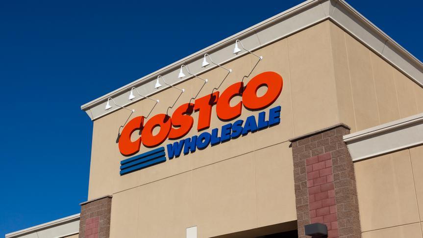 Citrus Heights, California, USA - Jun 17, 2011: Costco Wholesale storefront in Citrus Heights, California.