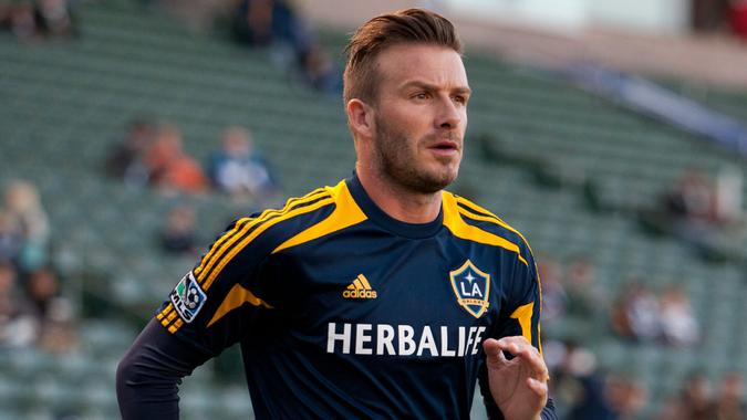 David Beckham LA Galaxy Adidas