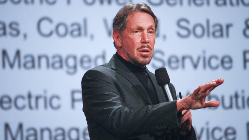 CEO of Oracle Larry Ellison