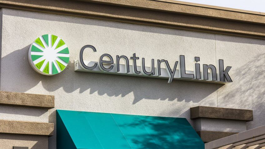 Century Link store sign