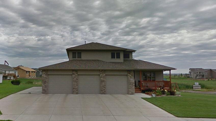 North Dakota house