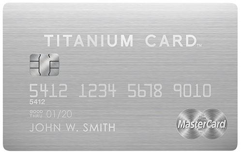 5_MasterCard Titanium Card