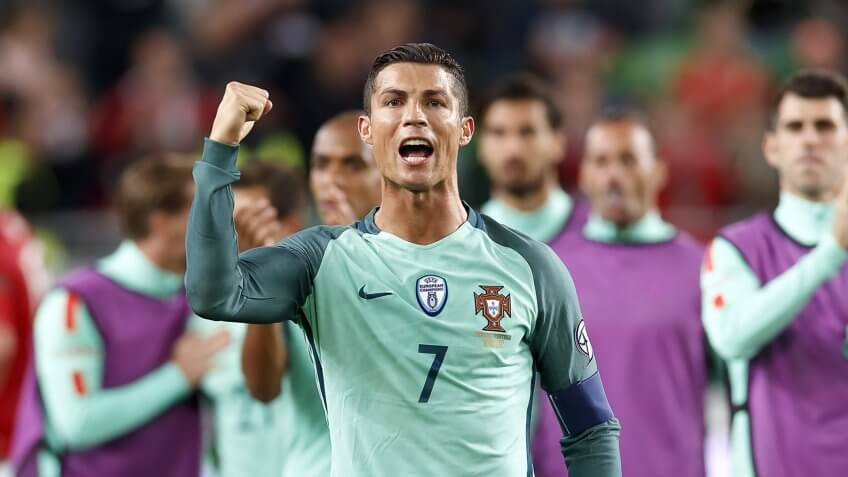Cristiano Ronaldo and Nike